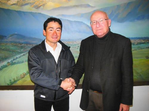 ICIMODO(国際総合山岳開発センター) に表敬訪問