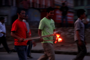 暴動と化すネパール
