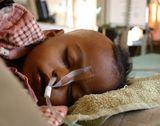 カンティ小児病院に訪れる 龍さんへの約束