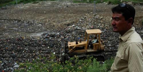 カトマンズのゴミ最終処分場  JICA の挑戦
