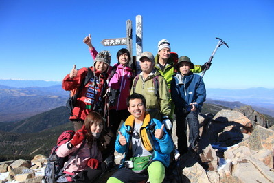 藤巻亮太 X 野口健 八ヶ岳登山