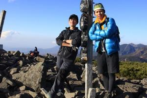 八ケ岳トレーニング写真集 どちらが上手?