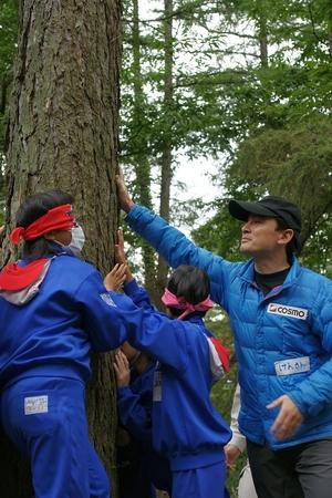 長野県・小諸市にて森林教室!