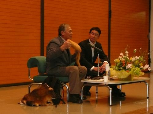 野口健とマタギの工藤光治氏の対談