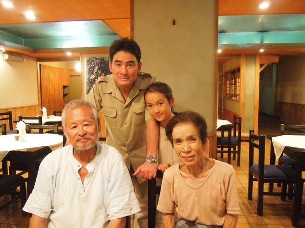 中東一古い日本レストランの「おかもとレストラン」!懐かしい! 小学生の頃からお世話になりっぱなしで。もう一人の父と母.jpg