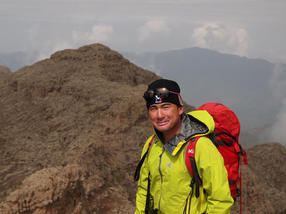 ラスダシャン峰登頂