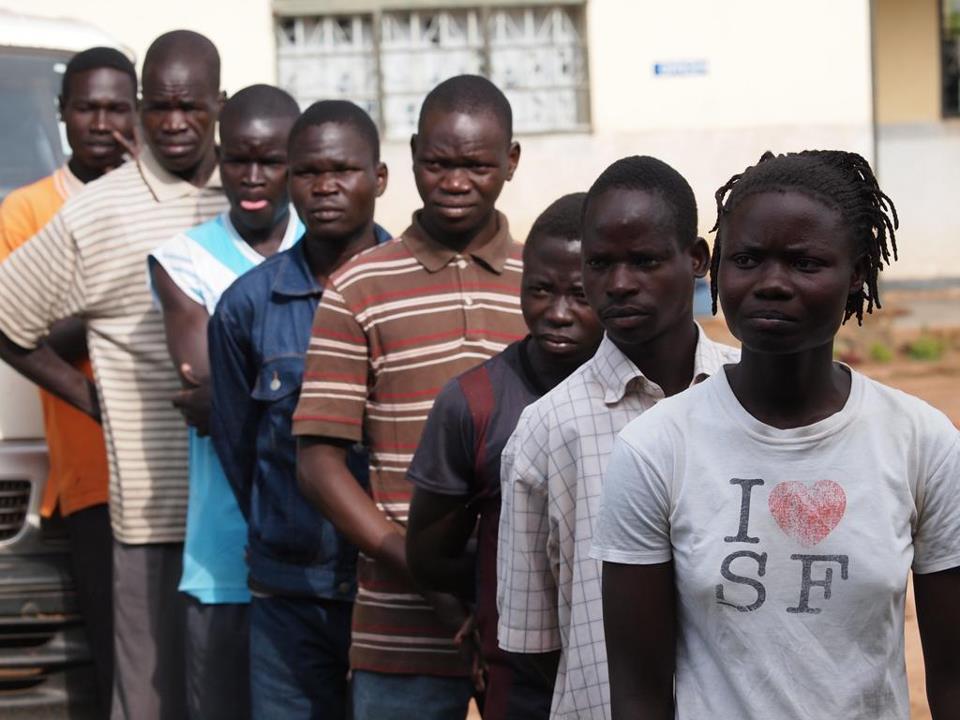 ウガンダでの少年兵