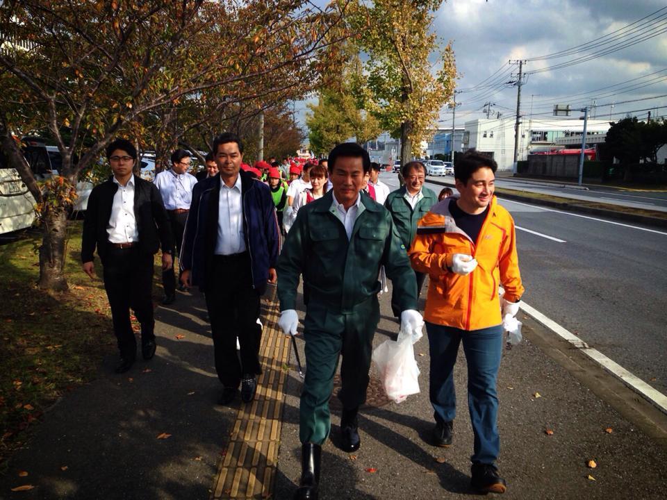 木更津で清掃活動