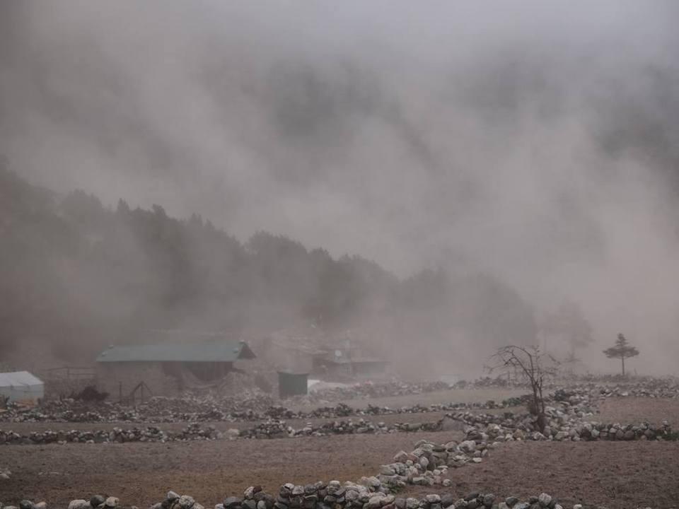 ヒマラヤ巨大余震の瞬間〜最も状況が厳しかったターメ村〜