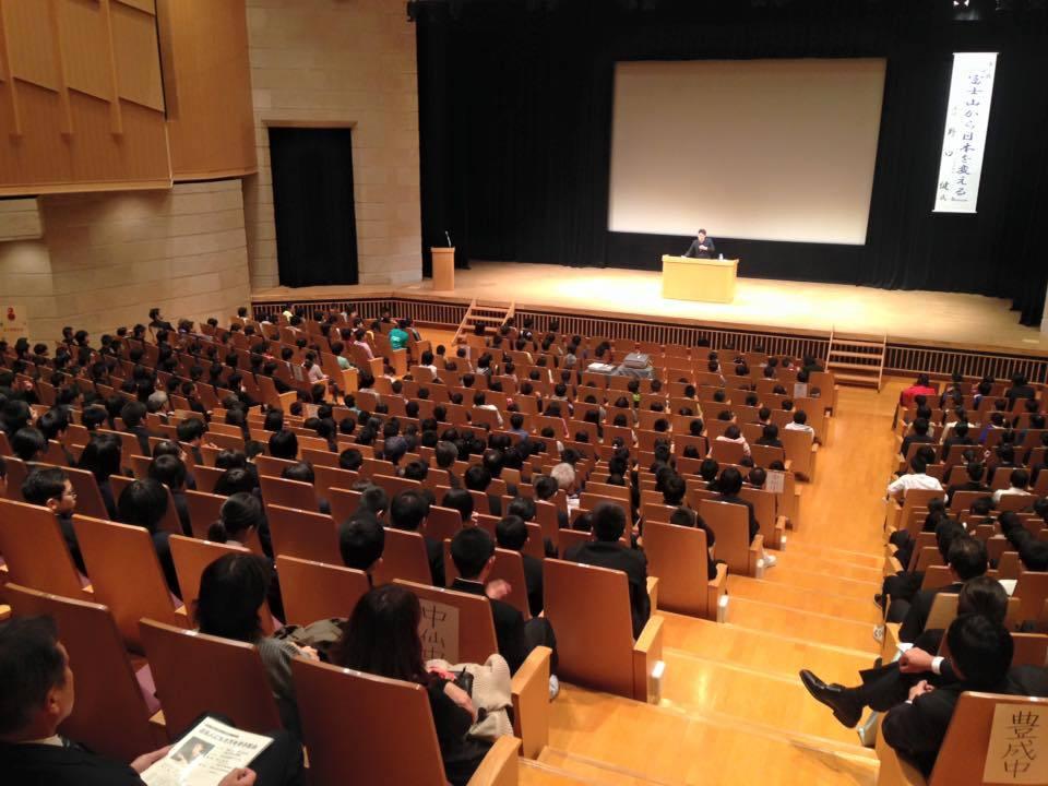 秋田で小・中学生に講演会