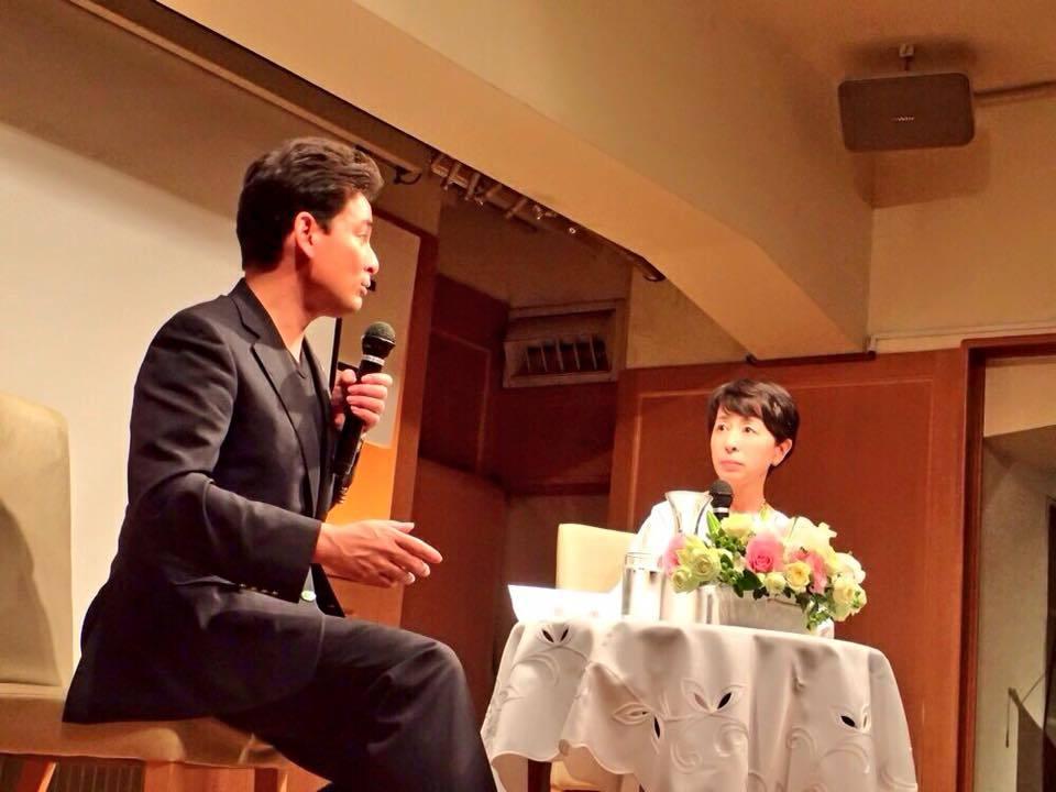 阿川佐和子さんとのトークショー