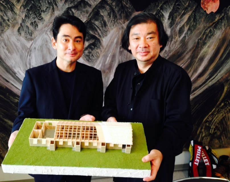 建築家坂茂先生とネパール復興に関して話しました。