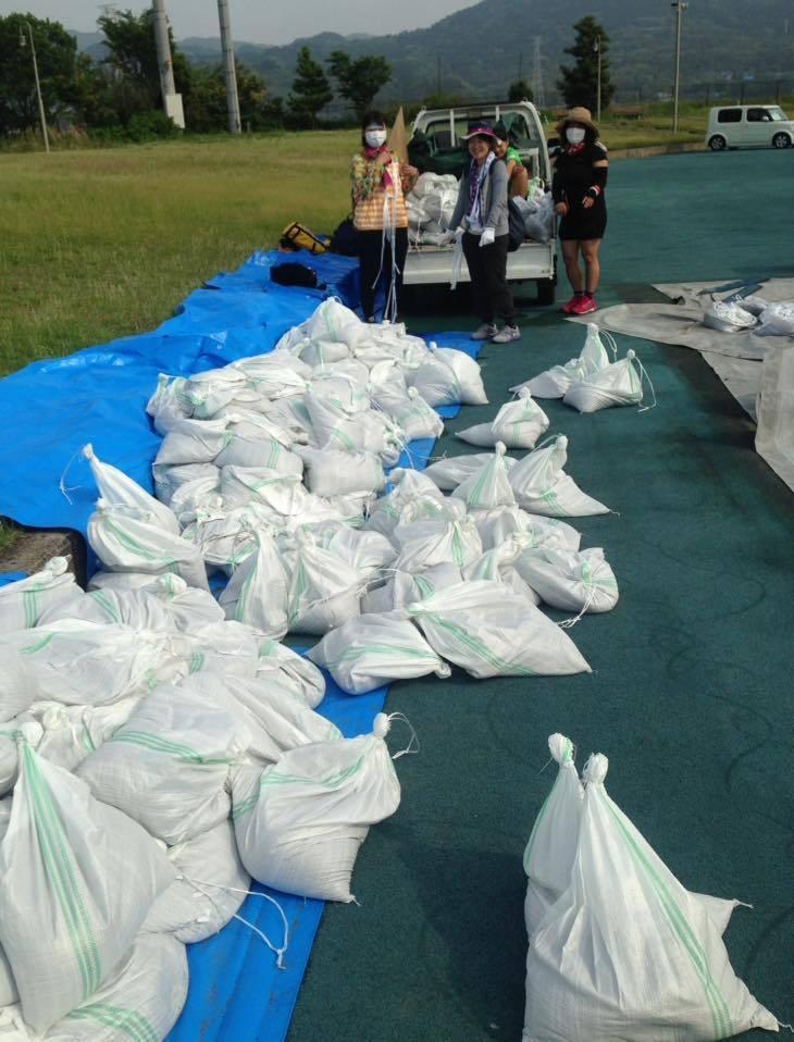 熊本地震支援、テント村は総社市との連携