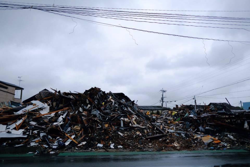 熊本地震支援、東京に戻る前に・・・・