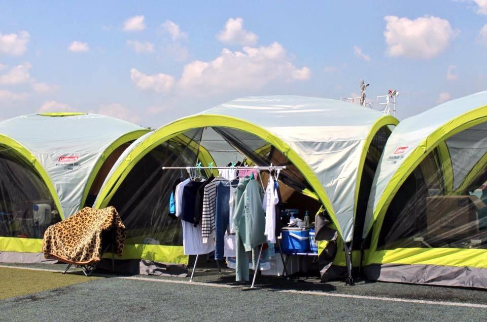 熊本地震支援、テント村、それぞれの生活