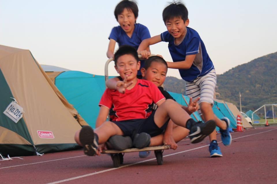熊本地震支援、テント村は日本一明るい避難所。