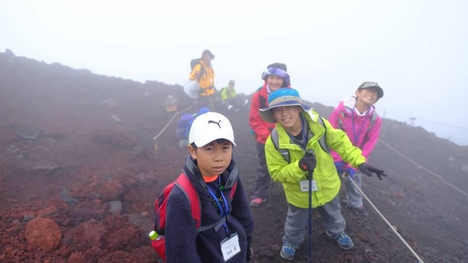 富士山キャンプ「クマモト・エイド・富士山チャレンジ2016」開催しました。