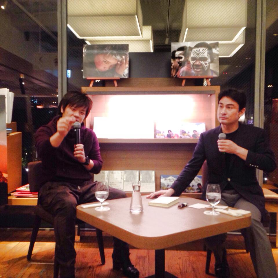 ツタヤ 平野啓一郎さんとトークショー