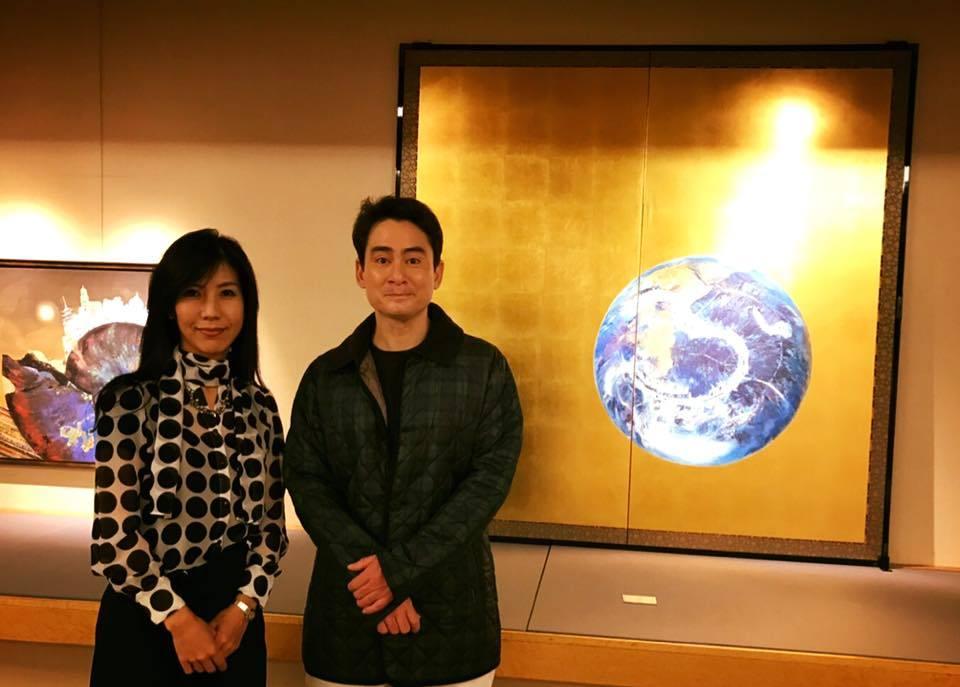 日本画古澤洋子先生