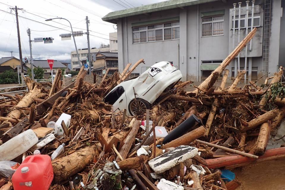 九州豪雨被災地、支援活動始めます