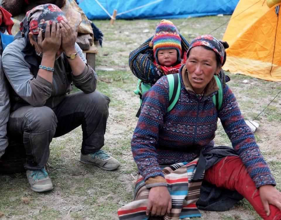 ネパール再び大地震「もうネパールはダメかもしれないと嘆く村人たち」