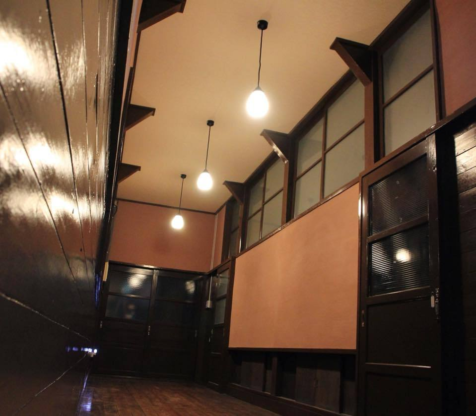 もりの学校の廊下