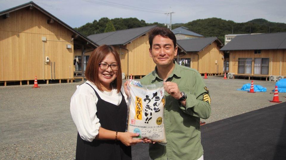 西日本豪雨支援 総社市に支援物資を届けました