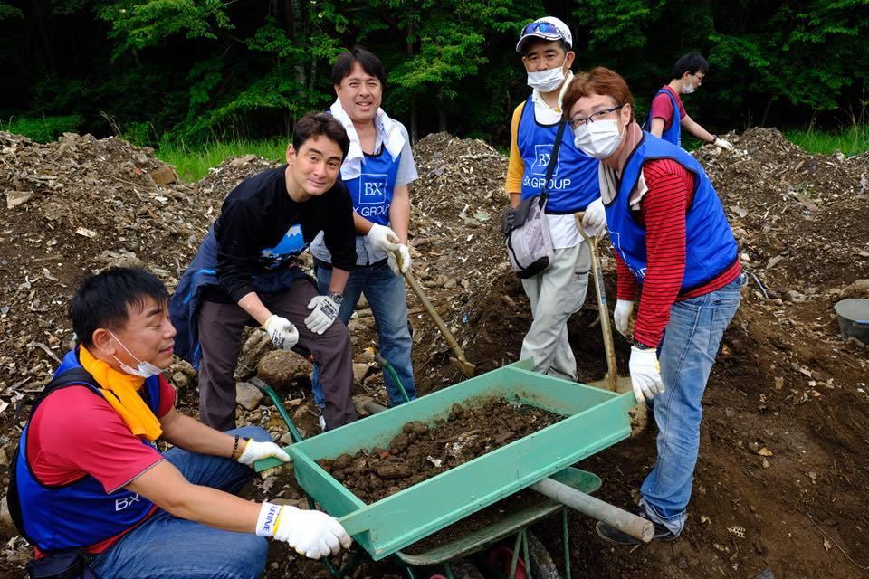 文化シヤッター 富士山清掃活動