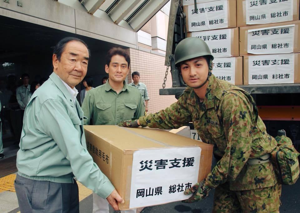 北海道地震支援 苫小牧市に支援物資を届けました
