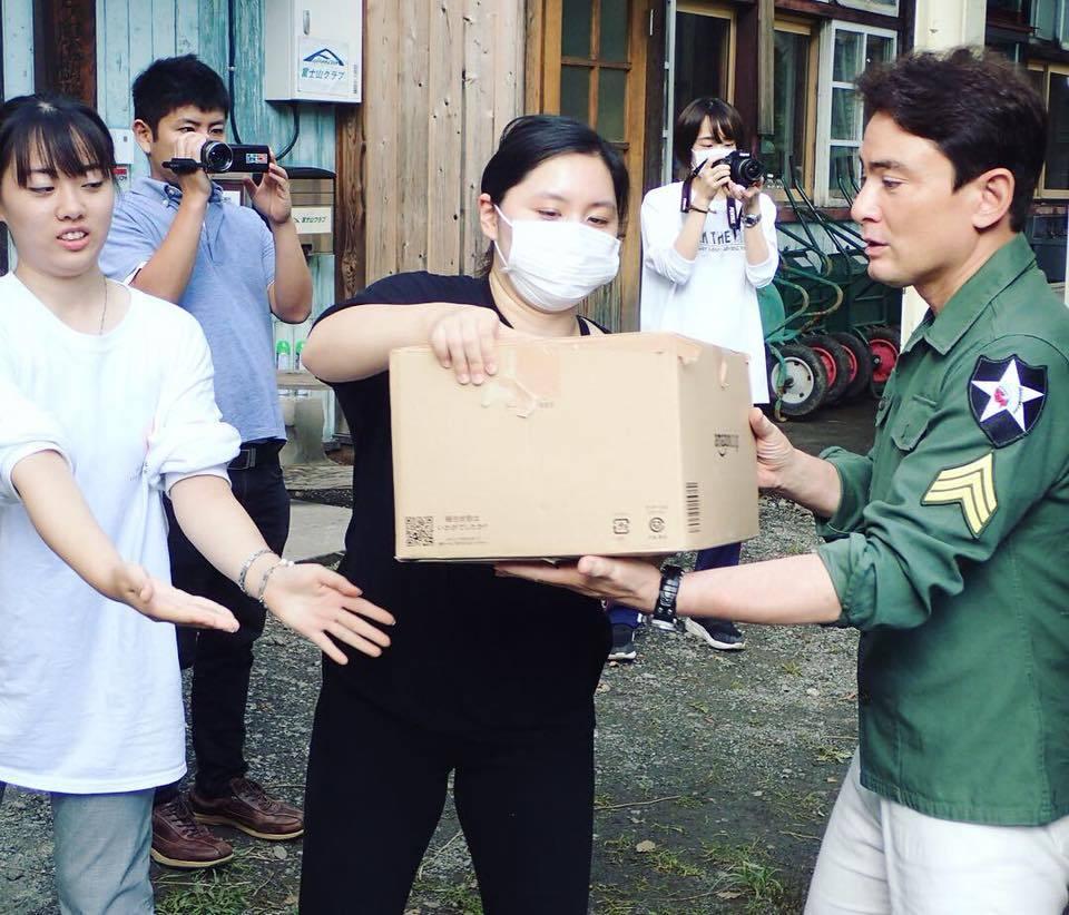 北海道地震支援 救援物資発送しました