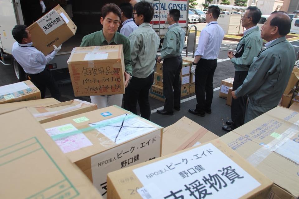 北海道地震支援 救援物資を届けました
