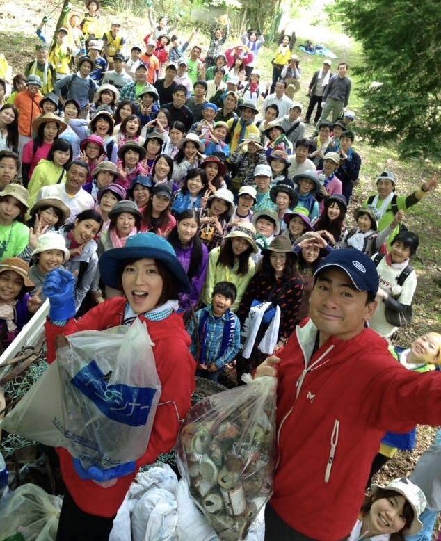 富士山清掃への思い(11月23日 11月23日TEAM FUJISAN クリーンキャンペーン 3776)