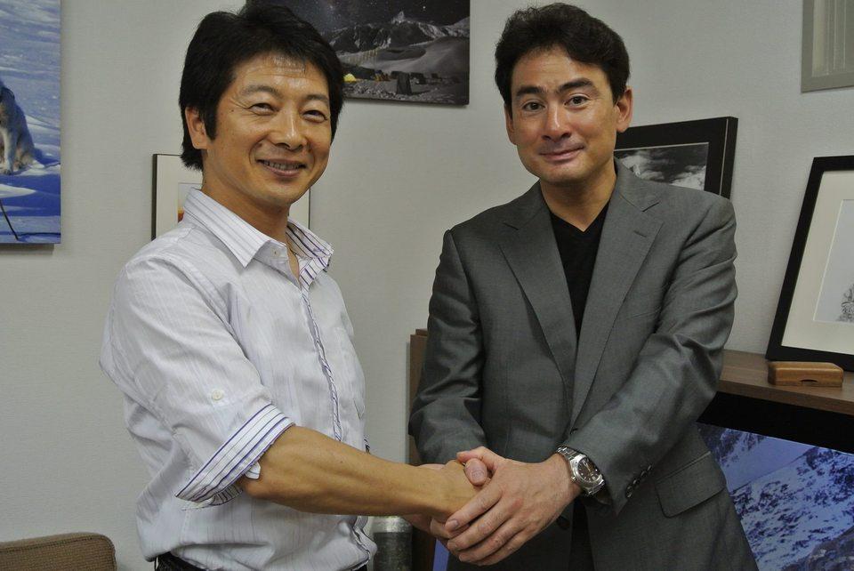 國井先生と対談