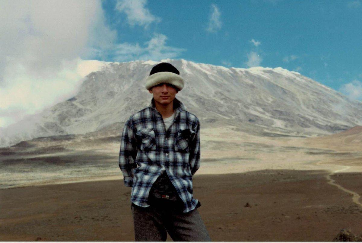 30年前のキリマンジャロ登山