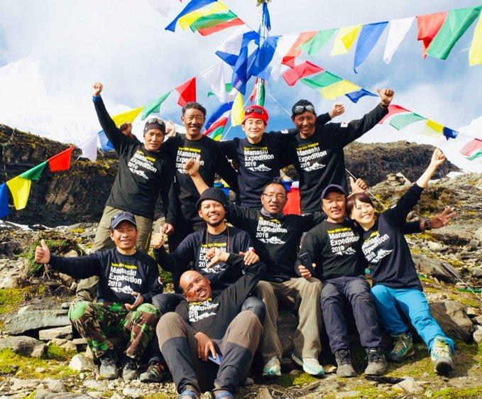 2019マナスル遠征隊、素晴らしいメンバーでした