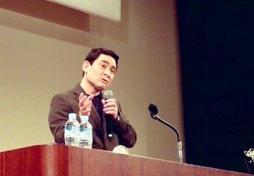 石垣島にて講演会