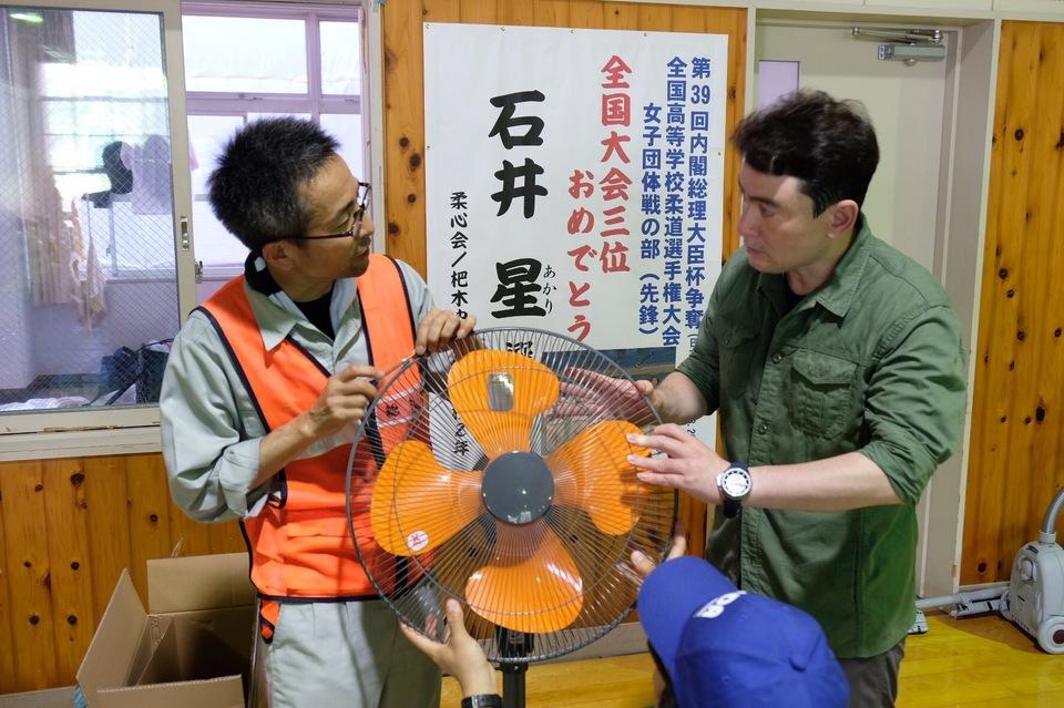 九州豪雨災害支援活動