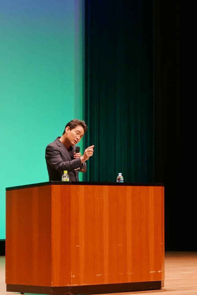 取手にて講演会