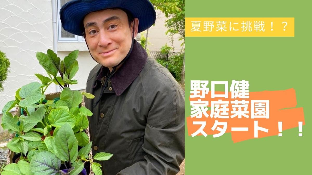 野口健チャンネル 野菜作り、映像をまとめました。