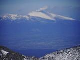 噴火する浅間山