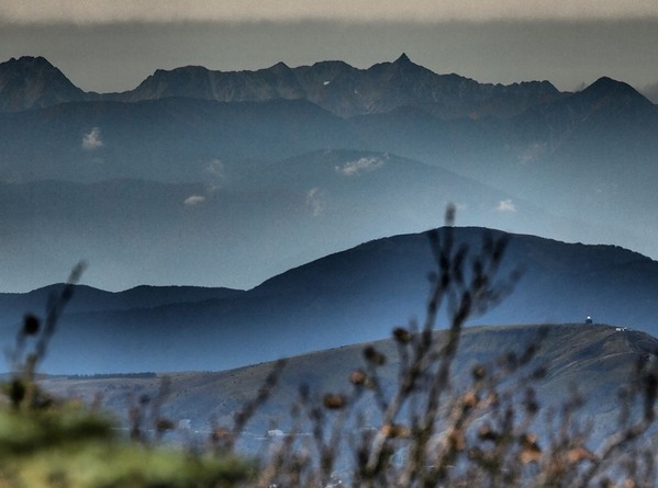 1番目・八ヶ岳からの北アルプス