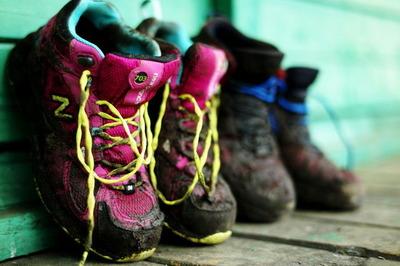 13番 泥だらけのコースに靴も頑張ってくれた