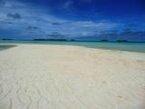 フナファラの美しい砂浜