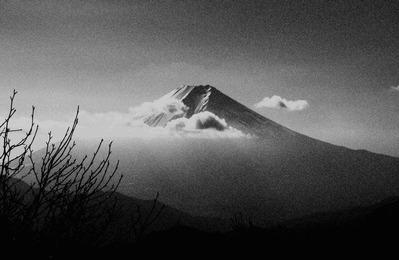 10避難小屋から撮影した富士山 - コピー