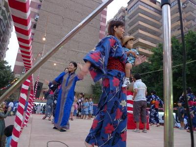 カイロ日本人会主催の夏祭り