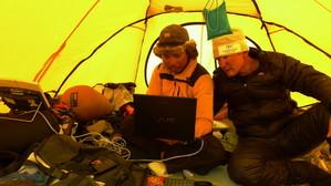キャンプ2から動画を送信する