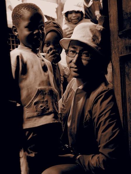 ナイロビ在中のサロンゴ(旅行会社)井村大輔さん。