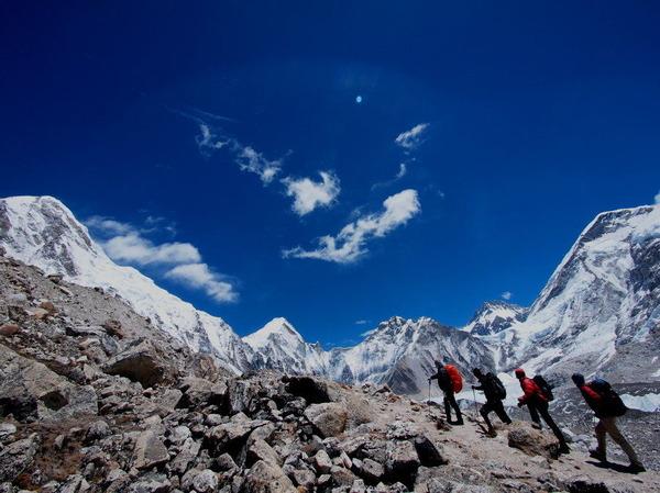 13番目・氷河の世界に近づく