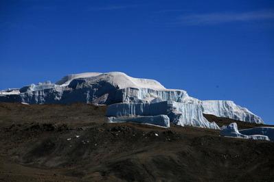 可哀そうなぐらい小さくなった氷河