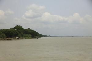 広いガンジス川